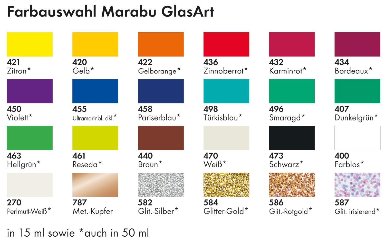 Glass Paint Color Chart Paint Color Ideas