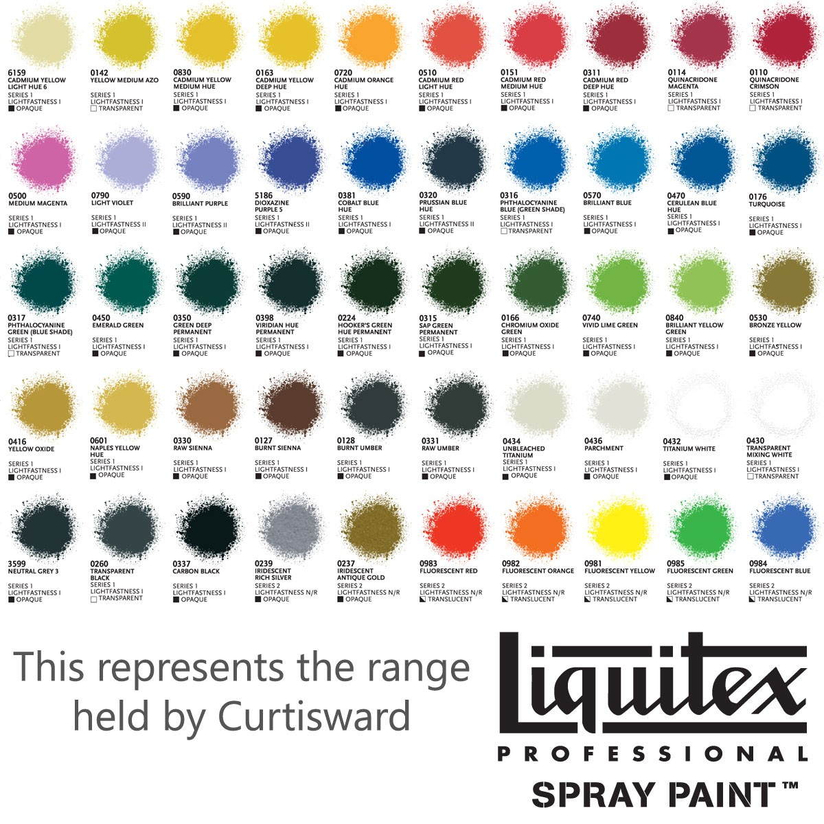 Spray paint color chart spray paint color chart for cars free liquitex professional acrylic spray paint 400ml colour chart rh curtisward com valspar spray paint color chart nvjuhfo Choice Image