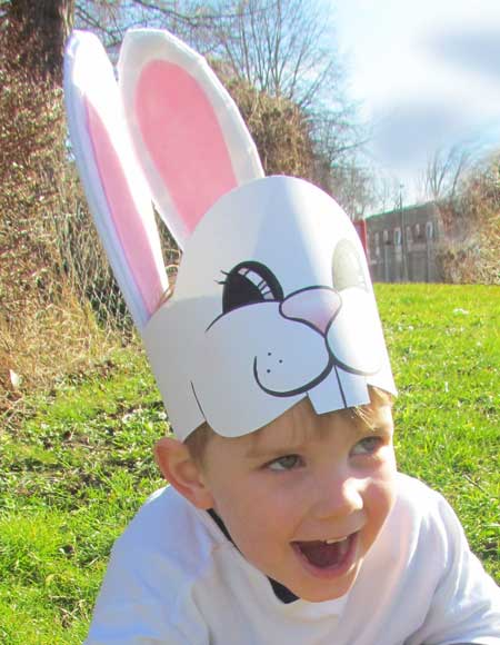 An Easter Bunny alternative to an Easter Bonnet