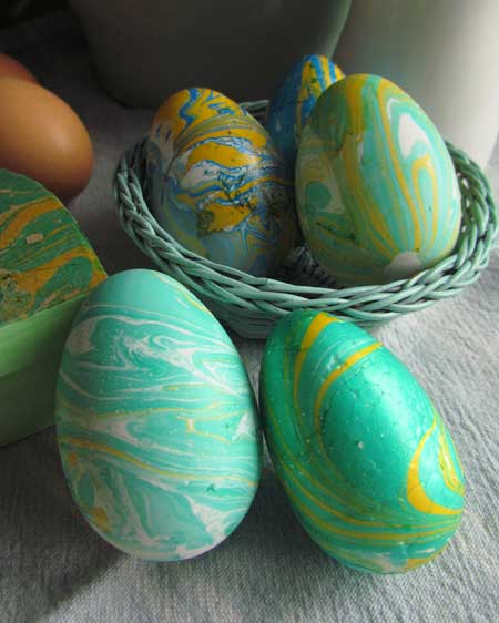 Marbled Easter Eggs Marbled Eggs