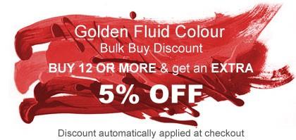 Golden Fluid Colour Promotion