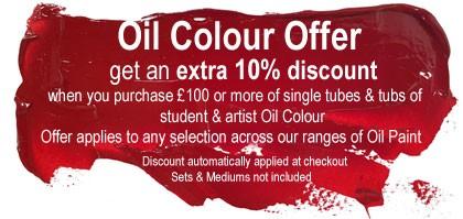 Oil Colour Offer
