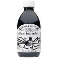 Winsor & Newton Drawing Ink 250ml Black Indian Ink