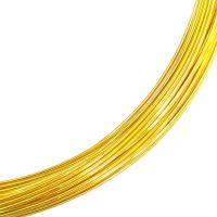 LIGHT GOLD Wire 0.7mm x 15m