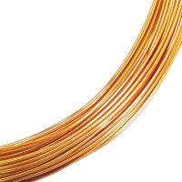 WARM GOLD Wire 0.7mm x 15m
