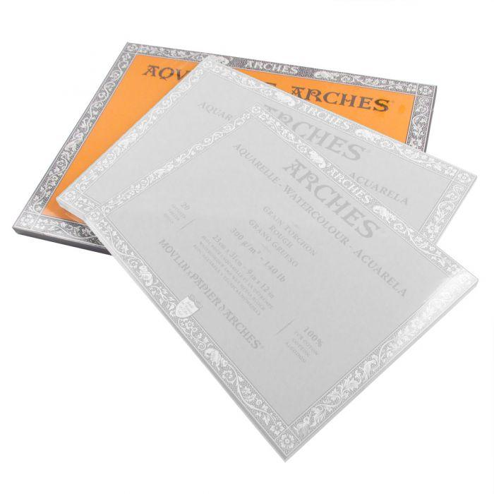Arches Water Colour Block 14 x 20 140lb // 300GSM Rough