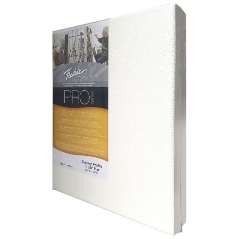 Fredrix Pro Ultimate Gallery Deep Edge 200oz Cotton Canvas 16 x 16 inch