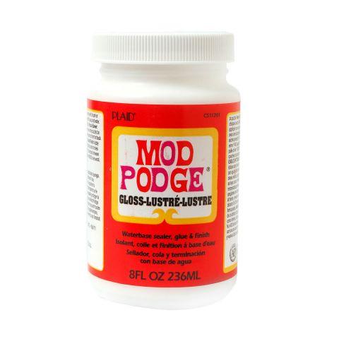 Mod Podge Decoupage Glue & Varnish Gloss 8oz 236ml