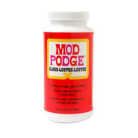 Mod Podge Decoupage Glue & Varnish Gloss 16oz 473ml