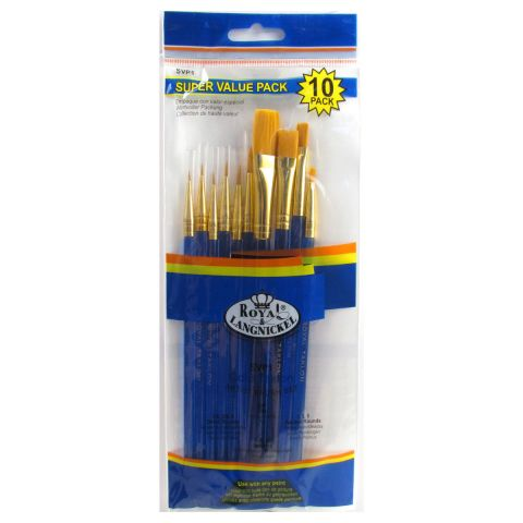 Royal & Langnickel 10 Brushes Value Set SVP1