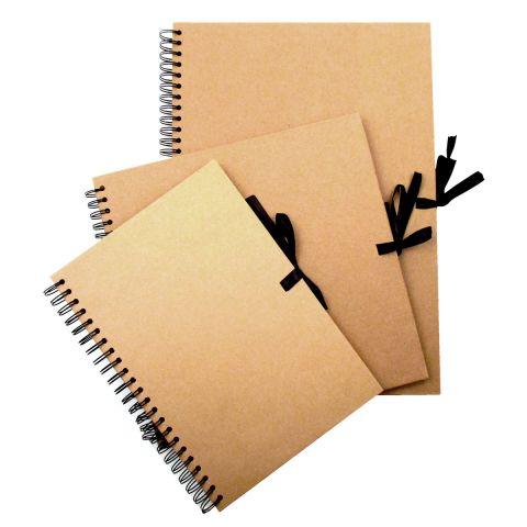 Seawhite Kraft Card Wiro Sketch Book