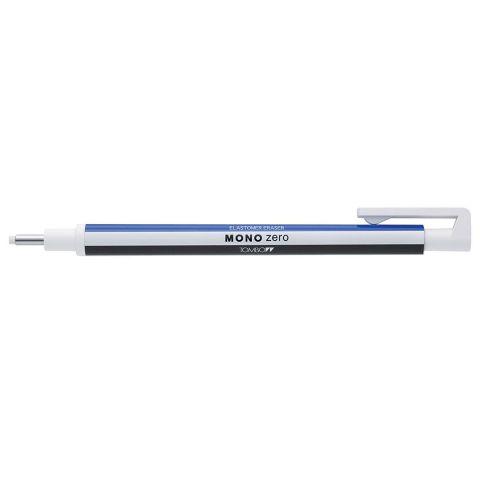 Tombow Mono Zero Mechanical Precise Eraser Pen. WHITE Case ROUND Eraser