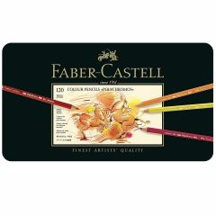 Faber Castell Polychromos Pencil Tin Set of 120