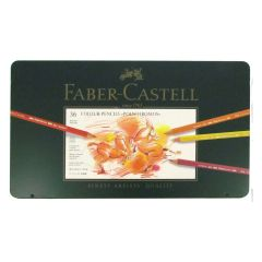 Faber Castell Polychromos Finest Artist Pencil Tin Set of 36