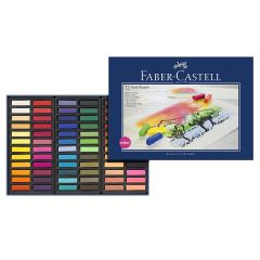 Faber Castell Artists Soft Pastels. Box Set of 72 Assorted Colours