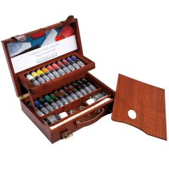 Sennelier Wooden Box Set Artists Oils 22x40ml