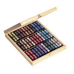 Sennelier 36 Assorted Soft Pastel Wooden Box Set. Professional Artists Pastels