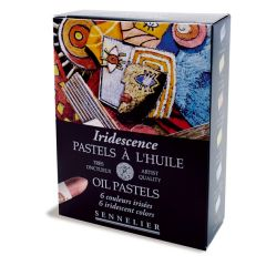 Sennelier 6 Artists Iridescent Oil Pastel Box Set
