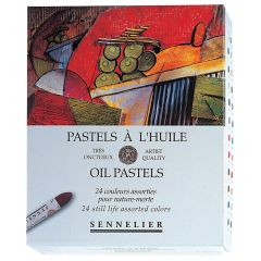 Sennelier Oil Pastels Box Set of 24 Still Life Colours