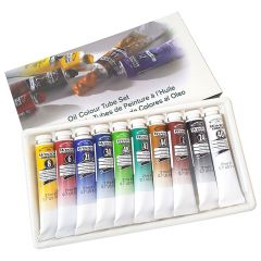 Winsor & Newton Winton 10 x 21ml Oil Colour Tube Set