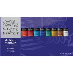 Winsor & Newton Artisan 10 x 21ml Water Mixable Oil Colour Tube Set
