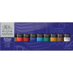 Winsor & Newton Artisan 10 x 37ml Water Mixable Oil Colour Tube Set