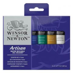 Winsor & Newton Artisan Water Mixable Oil Paint Beginners Set