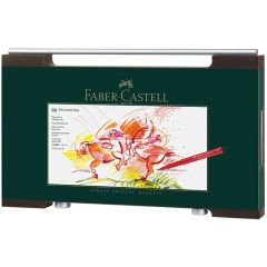 Faber Castell Pitt Artist Brush Pen Wooden Case Set of 90