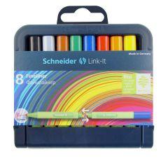 Schneider Link-It Fineliner Case Set of 8