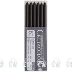 Pack of 6 Cretacolor Artists Dark Sepia 5.6mm Clutch Pencil Leads