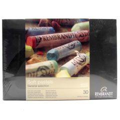 Rembrandt 30 Full Length Soft Pastel Box Set