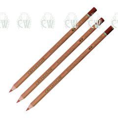 3 X Cretacolor Artists Sanguine Oil Pastel Pencils
