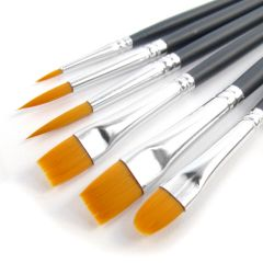 Winsor & Newton Foundation Golden 6 Brush Set (016)