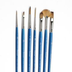Winsor & Newton Cotman 7 Brush Set (605)