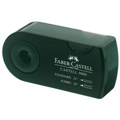 Faber Castell 9000 Double Hole Sharpener Box