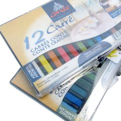 Conte Carres 12 Pastels Set Assorted