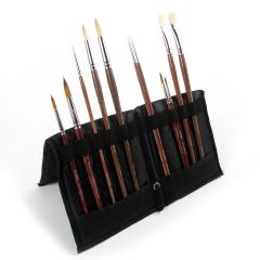 Pro Arte Easel Brush Storage Case