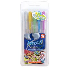 Sakura Gelly Roll Metallic Gel 5 Pen Light Set