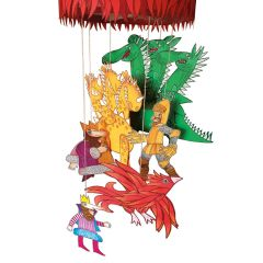 Pappet 'Dragons and Firebird' Paper Craft kit