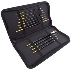 Curtisward Artist Value Profile Brush Case Set