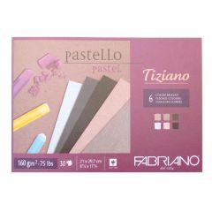 Fabriano Tiziano Pastel Paper Pads Brizzati