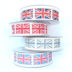 Union Jack Fabric Ribbon