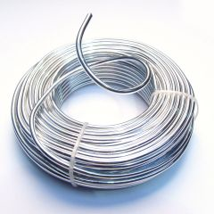 Aluminium 3.2mm Modelling Wire Roll 500g
