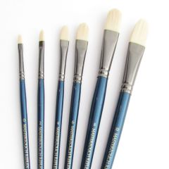 Curtisward Mastertouch Oil & Acrylic Filberts Artists 6 Brush Set