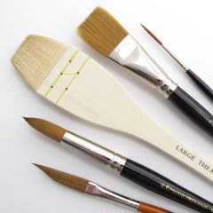 Pro Arte Ron Ranson Large Artists 5 Brush Set