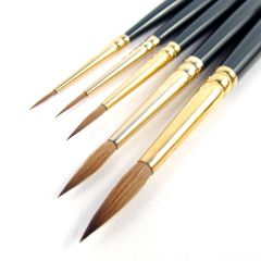 Pro Arte Artists Renaissance Pure Sable 5 Brush Set A