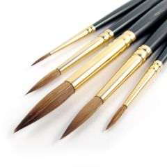 Pro Arte Artists Renaissance Pure Sable 5 Brush Set B