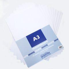 A3 White Mountboard 10 Sheets