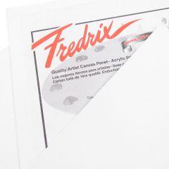 Fredrix White Primed Canvas Panel 8 x 16 inch (Approx 20x40cm)