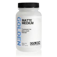 Golden Matte Medium 236ml